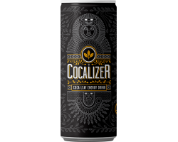 COCALIZER Coca Leaf Energy Drink balení 24 kusů